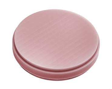 "PMMA-Blank ""pink"" 25 mm"
