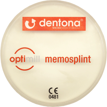 optimill memosplint 20 mm x 98,5 mm mit Stufe